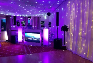Platinum all day Mr & Mrs DJ/ Host package