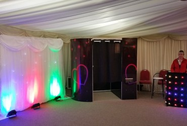 Photobooth & lighting package