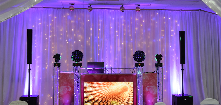 Premium lighting & disco package