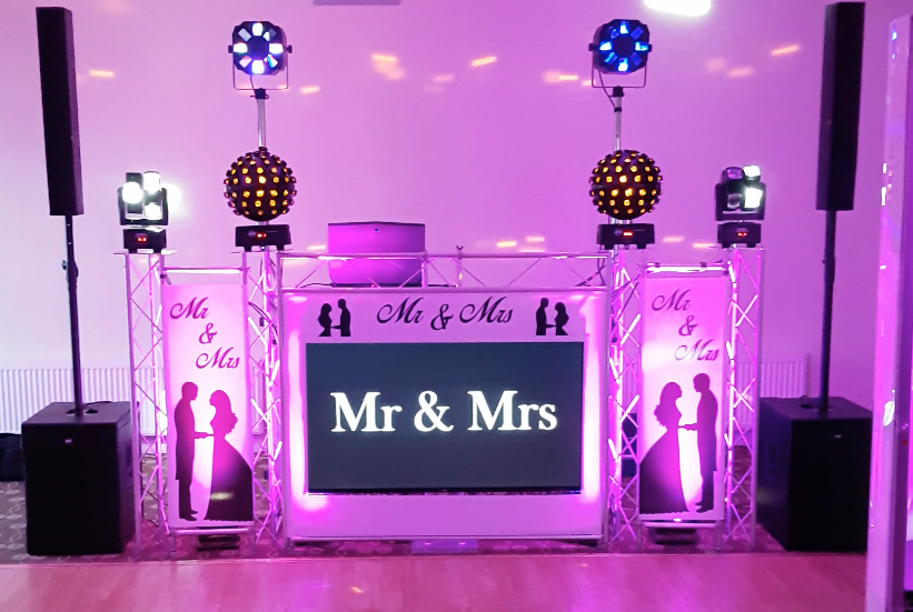 Platinum evening bespoke Mr & Mrs DJ/ Host package